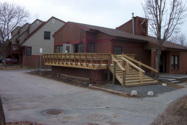 Photo of 131 Firewood Private (Community Center) with newly constructed deck